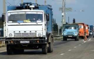 Какие машины попадают под Платон — на какие грузовики распространяется система Платон