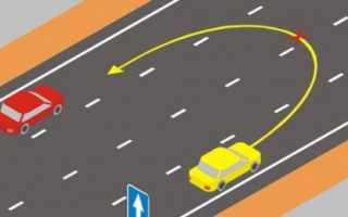Лишение прав за езду навстречу по дороге с односторонним движением – процедура
