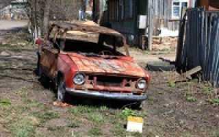 Какие документы нужны для утилизации автомобиля в ГИБДД — бланк и образец заявления