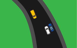 """Знак """"Сужение дороги"""" — кто кому должен уступать дорогу"""